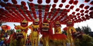 Chinese New Year online