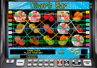 слот Olivers Bar novomatic